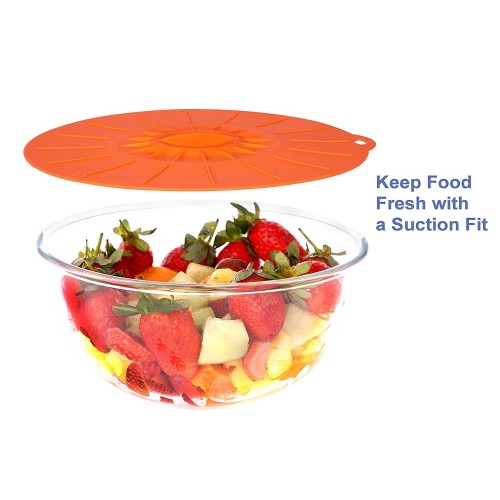 Silicone Bowl Suction Lids Set